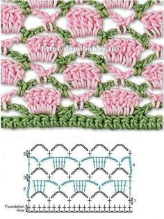 Watch This Video Beauteous Finished Make Crochet Look Like Knitting (the Waistcoat Stitch) Ideas. Amazing Make Crochet Look Like Knitting (the Waistcoat Stitch) Ideas. Crochet Stitches Chart, Crochet Motifs, Crochet Diagram, Diy Crochet, Simple Crochet, Beginner Crochet, Crochet Girls, Crochet Borders, Afghan Crochet