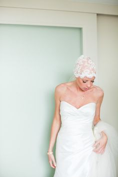 We are in love with this courageous bride: http://www.stylemepretty.com/washington-dc-weddings/2014/05/12/courageous-bride-proves-bald-is-beautiful/ | Photography: The Observatory - http://www.observatoryphoto.com/