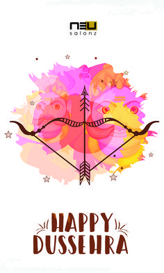 Good over Evil is one trend that will always be in vogue, no matter what century it is. Here's Wishing you a very happy Dussehra. #happydussehra
