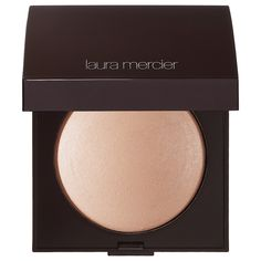 Matte Radiance Baked Powder Compact - Laura Mercier |  Highlight 01 - golden nude.