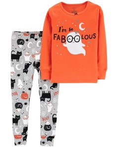 Toddler Girl 2-Piece Halloween Snug Fit Cotton PJs from Carters.com. Shop bc9d24ee704