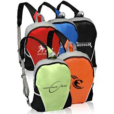Pack up everything you need and more with a sling backpack that's both practical and promotional. This pocket sling back pack is made using durable 600 denier 80 GSM Dobry non-woven polyester. This is the ideal option for everything from branded team wear to corporate advertising efforts. Add your corporate logo, team mascot, university seal or other advertising information to complete the promotional look.