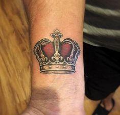 Crown on Wrist by Matt Beirne #beautytatoos