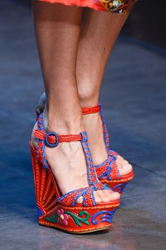 Dolce   Gabbana Spring 2013 Ready-to-Wear Fashion Show Details Stilettos,  High 6cd26bb4f34
