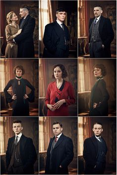 Peaky blinders :D :D Top Left: Linda and Arthur Top Middle: Tommy Top Right: Arthur Middle Left: Polly Middle: Ada Middle Right: Polly Bottom Left: Finn Bottom Middle: Michael Bottom Right: John Peaky Blinders Series, Peaky Blinders Season, Cillian Murphy Peaky Blinders, Peaky Blinders Merchandise, Peeky Blinders, Movies Showing, Movies And Tv Shows, Shelby Brothers, Red Right Hand