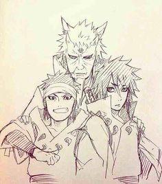 Hagoro, Ashura, and Indra Otsutsuki :D