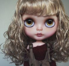 Not really of fan of Blythe with teeth but she is really cute!