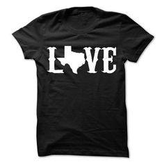 Awesome Tee Texas Love T shirt