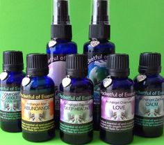 Angel Essences - Deep Healing - Calm - Healing & Protection - Love - Romance - Abundance - Comfort & Cuddles - A Pocketful of Essences - Mary Jac - Essential oil blends