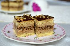 Prajitura Eszter Hazi cu ness | Miremirc Sweets Recipes, Cake Recipes, Romanian Desserts, Something Sweet, Tiramisu, Sweet Treats, Cheesecake, Food And Drink, Pie