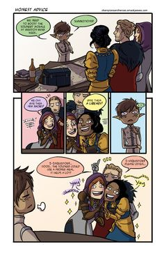Champions and Heroes - Age of Dragons :: Comics - Honest Advice