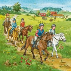 Praatplaat paardrijden