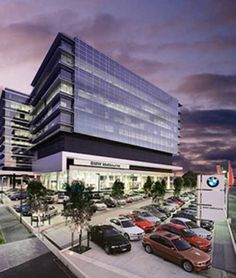 Architecture Commercial Building of BMW Showroom and Offices