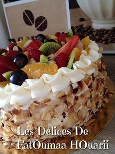 Gâteau multifruits