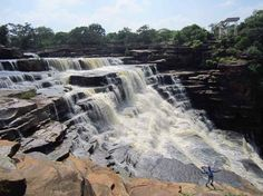 Rajdari Waterfall inside Chandraprabha National Park (near Varanasi), Chandauli, Uttar Pradesh, India By prk.delhi