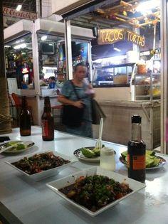 El Salvador - coctel de conchas en el Mercado San Miguelito / suchitoto.tours @Robyn Miner.com