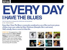 History of a Music Theme ; here : Every day I have the Blues CJZ #5