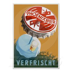 Pick your perfect Beer wedding program with Zazzle. Beer Advertisement, Vintage Advertising Posters, Vintage Advertisements, Vintage Ads, Vintage Prints, Vintage Posters, Vintage Designs, Vintage Style, Guinness Advert