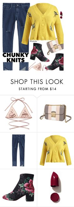 """""""Knits"""" by gabyidc ❤ liked on Polyvore featuring NARS Cosmetics"""