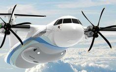 Commercial Jet Regional Airliner ATR 72 #atr #72 #commercial #jet
