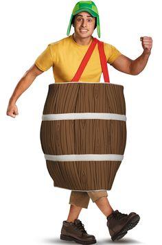 El Chavo Standard Adult Costume Available on TrendyHalloween.com  #ElChavo #Mexico #Spanish #ElChavoDelOcho #Chespirito #Chilindrina