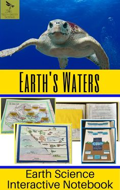 Earth's Waters an Earth Science Interactive Notebook includes the following concepts: •Earth: The Water Planet •Fresh Water •Composition & Characteristics of Oceans •Ocean Waves and Tides •Ocean Currents and Climates #middleschoolscience #interactivenotebook #earthscience