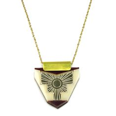 Peru Necklace by Wolf and Moon
