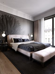 64 the coolest and simple but luxury bedroom decor is perfect for your home page 14 Modern Bedroom Design, Contemporary Bedroom, Bedroom Designs, Modern Decor, Beach House Bathroom, Luxurious Bedrooms, Luxury Bedrooms, Home Decor Bedroom, Bedroom Furniture