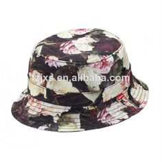 f546727df2a Flower Bucket Hat Wholesale  2. Paypal accept  3. Custom design