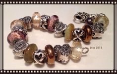 Some beautiful heart silvers, old caves and Hematites. Rich copper and rose. By Deborah Taylor