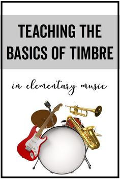 An interactive slideshow that is perfect for reviewing the basics of timbre in elementary music. Students see, hear, and feel real-life examples of timbre.