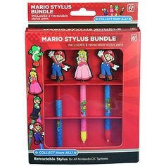 I'm learning all about Solutions 2 GO Mario Stylus Bundle for Nintendo DS/3DS at @Influenster!