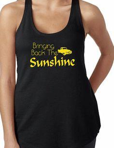 Womens Bringing Back The Sunshine Tank by GKapparel on Etsy