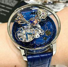 Fancy Watches, Men's Watches, Cool Watches, Fashion Watches, Luxury Watches, Watches For Men, Jewelry Watches, Globe Watch, Skeleton Watches