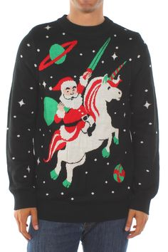 You've got to admit it. A flying sleigh is kind of the magical equivalent of a minivan. It's great for toting lots of stuff from here to there, but it isn't all that suave. The unicorn is like a cool motorcycle.