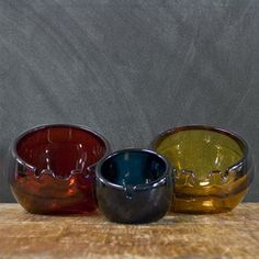 Viking Glass Trio now featured on Fab.