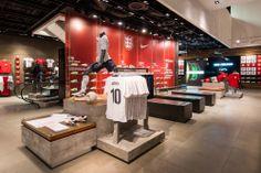Nike   England Time Kit by Millington Associates   #visualmerchandising #retail #interior #interiordesign