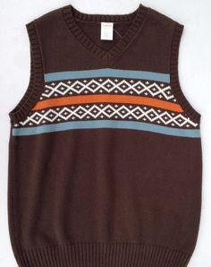 Gymboree Winter Moose Boys Brown Argyle Sweater Vest Sz 7/8 NWT #Gymboree #Vest #DressyHoliday