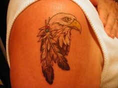 Eagle Feather Tattoo