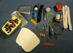A Tin of Stuff OR a fixers Kit - MISCELLANEOUS TOPICS