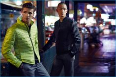 Edward Wilding and Sung Jin Park for BOSS Green's fall-winter 2016 campaign.