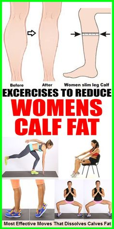 8 Best Exercises to Reduce Women's Calf Fat - Wealthy Healthy World