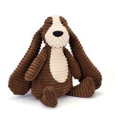 Cordy Roy Hund Breitcord Kuscheltier von Jellycat - Bonuspunkte sammeln, auf Rechnung bestellen, Blitzlieferung per DHL!