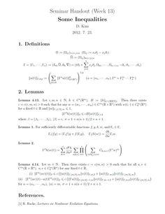 M1 Seminar] Week 2 : Decay Estimates for Linear Wave Equations #Math