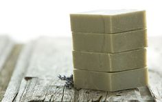 4 bars French Green Clay organic Soap 4 4.5oz by CaruSkincareCo