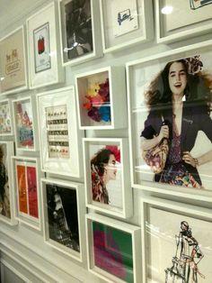Decor Inspiration: Fabulous Photo Wall