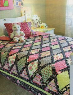 P S I Love You Quilt Pattern Pieced JL