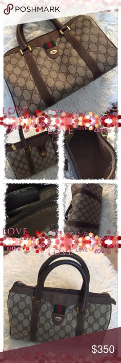 Spotted while shopping on Poshmark: Today💞GUCCI💞vintage monogrammed purse! #poshmark #fashion #shopping #style #Gucci #Handbags