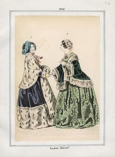 Ladies' Cabinet 1845 LAPL