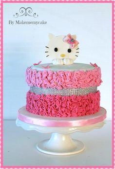 Pinky Fashion Hello Kitty - Cake by Eva Salazar